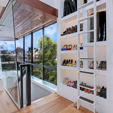 Contemporary Closet by Brandon Architects, Inc.