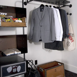 Example of an eclectic closet design in Portland