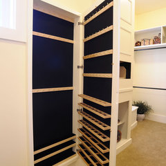 traditional closet by Weaver Custom Homes