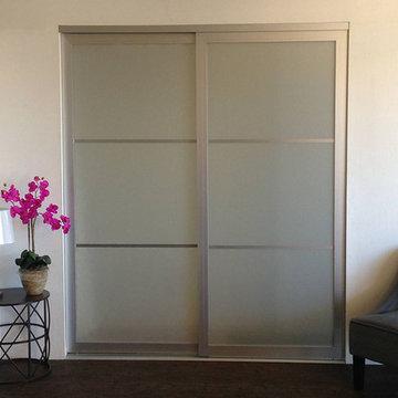 Acrylic & Glass - Sliding Closet Doors / Room Dividers
