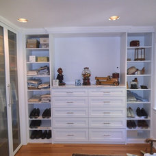 Traditional Closet by Al Porto Co.