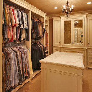 Traditional storage and wardrobe in New York.