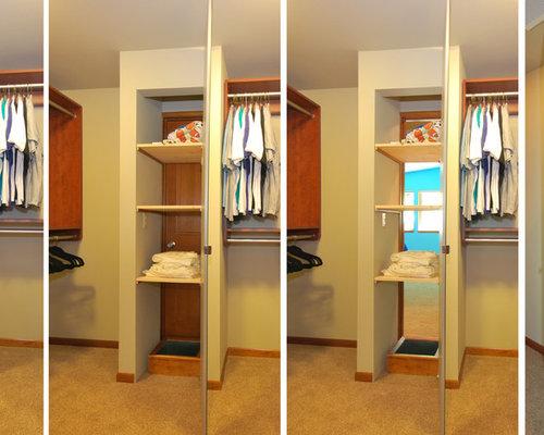 Houzz Midcentury Seattle Closet Design Ideas Amp Remodel