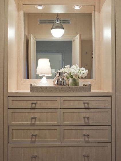 Contemporary Closet by Adrienne Neff Design Services LLC