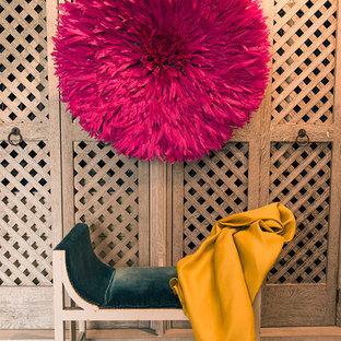 Diseño de armario y vestidor unisex bohemio