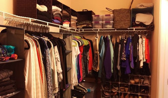 After- shoes, handbags, workout gear, Organized!