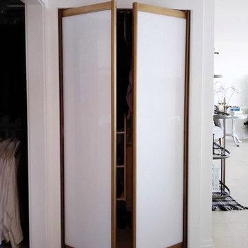 Alternative to common Bi-fold closet door