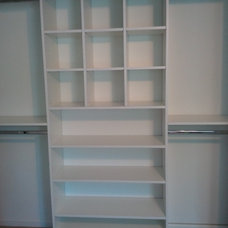 Traditional Closet by Amazing Space Custom Closets