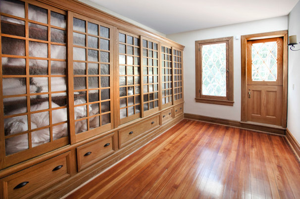 Traditional Closet by Homestead Construction
