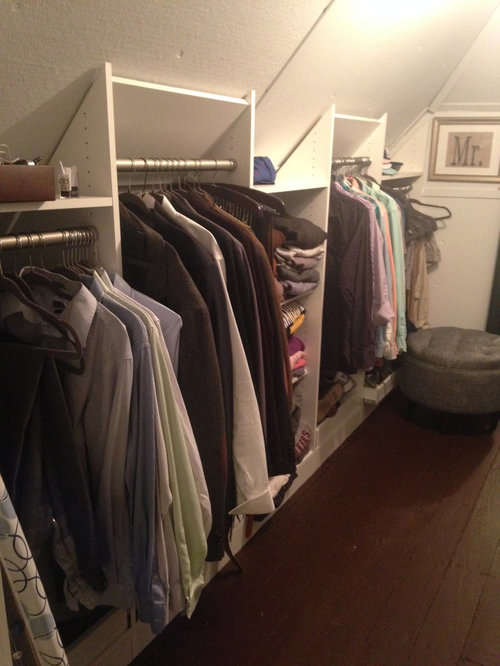 Narrow Walk In Closet Solutions