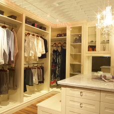 Traditional Closet by Space Solutions.ca