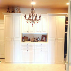 Traditional Closet by Closet Crafters