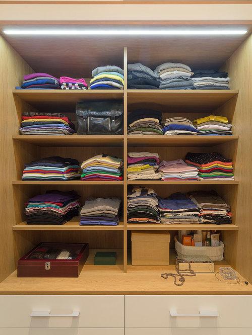 Ideas para armarios y vestidores dise os de armarios y for Closets abiertos pequenos