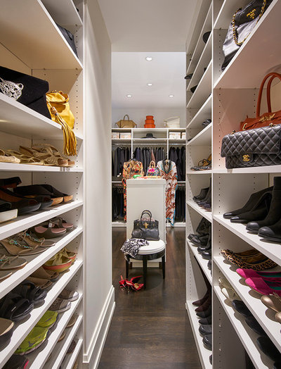 Transitional Closet by Amy Cassell Atelier