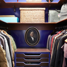 Eclectic Closet by Barker Freeman Design Office Architects pllc