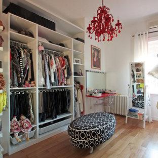 Eklektisches Ankleidezimmer in Rom