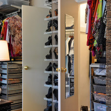 Transitional Closet by CM Glover