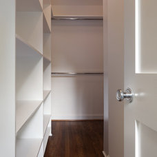 Contemporary Closet by Superior Home Services Inc