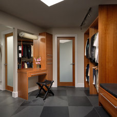 Contemporary Closet by Keith Baker Design Inc.