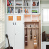 Custom Craftsman Cabinetry Fit for a Guitar Collector