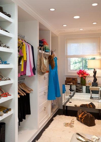 Contemporary Closet by Kathryn MacDonald Photography & Web Marketing