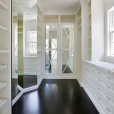 Traditional Closet by Markay Johnson Construction