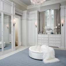 Transitional Closet by Habachy Designs