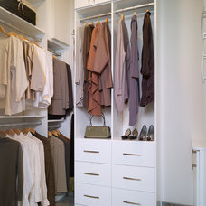 Contemporary Closet by New Mood Design LLC