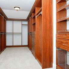 Traditional Closet by SEKAS HOMES LTD