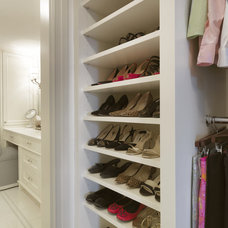 traditional closet by SLC Interiors