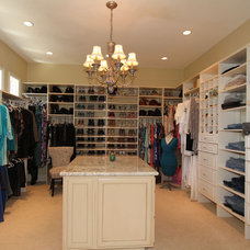 Mediterranean Closet by Hutchinson Design