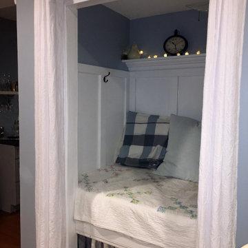Basement Sleeping Nook
