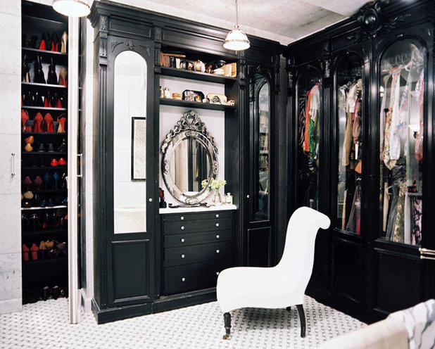 Traditional Closet by Mission Stone Tile