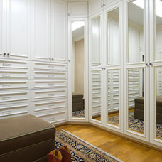 Closet by Kathy Corbet Interiors