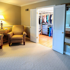Traditional Closet by Hammer Contractors