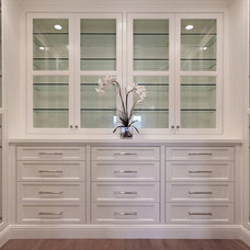 Traditional Closet by Patterson Custom Homes
