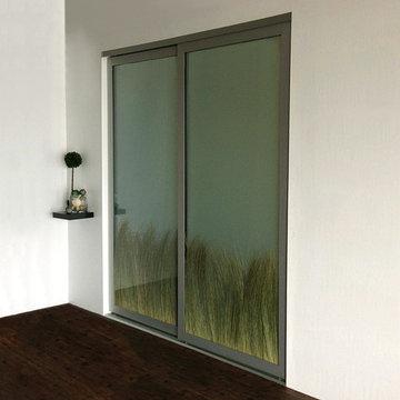 Beach Dune Grass - Sliding Closet Doors / Room Dividers