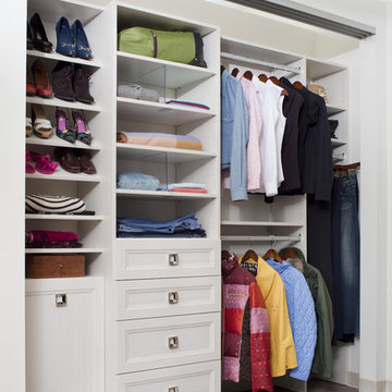 Beautiful And Efficient Reach In Closet