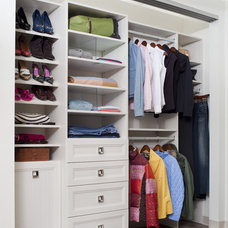 Transitional Closet by The Closet Works, Inc.
