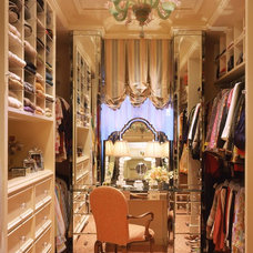 Traditional Closet by Tucker & Marks