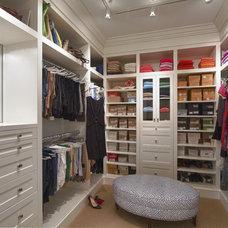 Traditional Closet by Gallin Beeler Design Studio