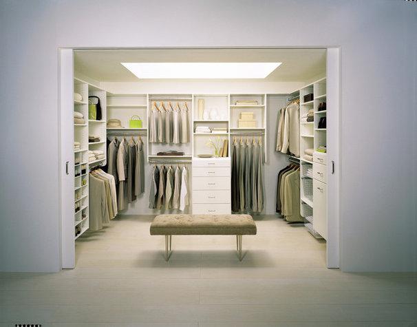 Modern Closet by California Closets