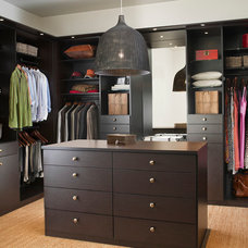 Modern Closet by California Closets