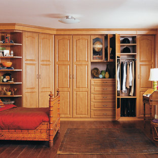 Photo of a traditional storage and wardrobe in New York.