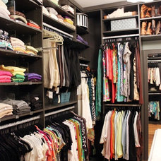 Transitional Closet by SOUPerior Organizing