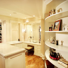 Traditional Closet by Belaire Custom Cabinetry