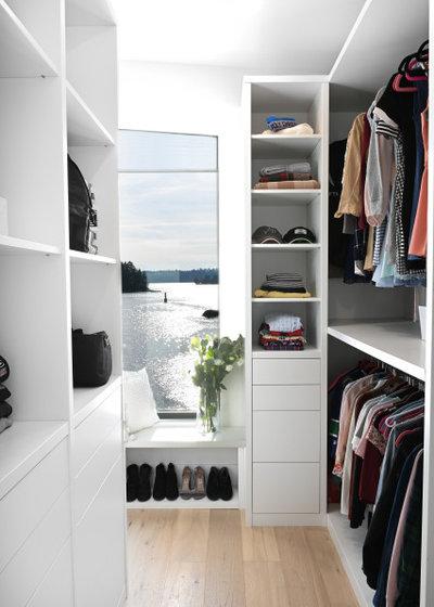 Contemporary Wardrobe by Jamie Banfield Interior Designs