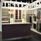 Belissima White Master Closet - Modern - Closet - Minneapolis - by California Closets Southdale