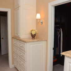 Traditional Closet by TailorCraft Builders, Inc.