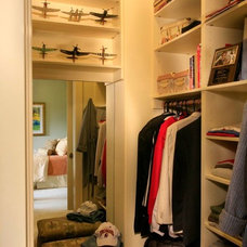Mediterranean Closet by Sandra Bird Designs